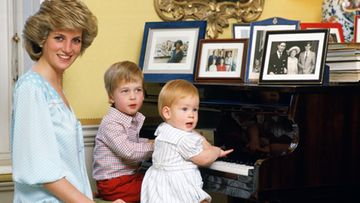 Diana, William ja Harry