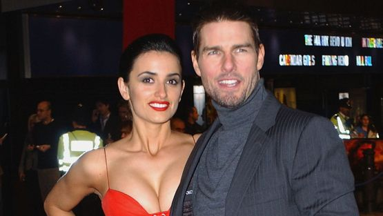 Penélope Cruz ja Tom Cruise olivat kolmen vuoden ajan Hollywoodin superpari.