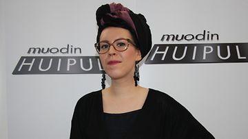 Muodin huipulle -suunnittelija Anne-Mari Pahkala.