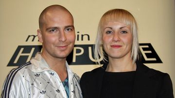 Muodin huipulle -kilpailijat Wille Lipponen ja Caterina Montagni.