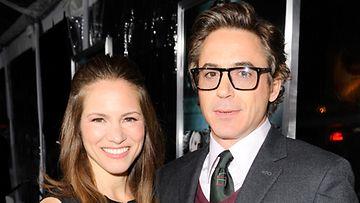 Robert Downey Jr. ja vaimo Susan.