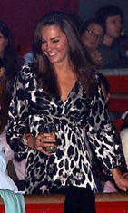 Kate Middleton suosii mekkoja, joissa on geometrisia kuvioita.