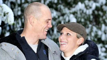 Zara Phillips ja Mike Tindall.