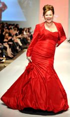 Caroline Rhea,Toronto Fashion Week 2010. Kuva: Wireimage/AOP