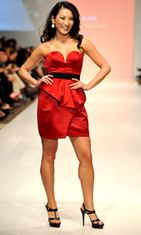 Tanya Kim, Toronto Fashion Week 2010. Kuva: Wireimage/AOP