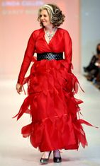 Linda Cullen, Toronto Fashion Week 2010. Kuva: Wireimage/AOP