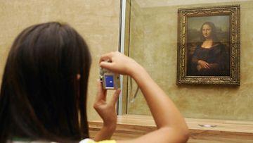 Leonardo Da Vincin Mona Lisa