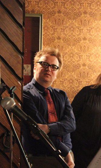 Pertti Jarla Fingerpori Jazzeilla helmikuussa 2012