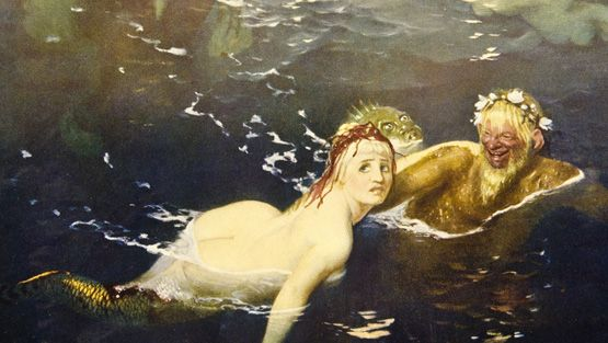 Arnold Böcklin: Leikkiä aalloilla, 1883