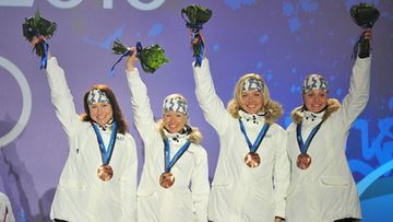 Pirjo Muranen; Virpi Kuitunen; Riitta-Liisa Roponen, Aino-Kaisa Saarinen   2010