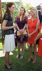 Catherine Cambridgen herttuatar tapasi Reese Witherspoonin.