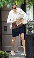 2011: Sinkkuelämää-näyttelijätär Sarah Jessica Parker on pukeutunut Marimekon mekkoon.