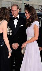 Cambridgen herttuatar Catherine ja prinssi William BAFTA-gaalassa.
