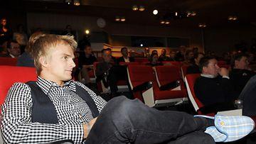 Heikki Kovalainen ja MM-Reinot.