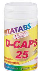 D-vitamii edistää kalsiumin imeytymistä.