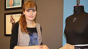 Olga Sjöroos. Kuva: MTV3.