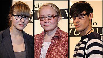 Olga Sjöroos, Hely Seppänen ja Mert Otsamo. Kuva: MTV3.