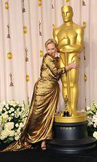 Meryl Streep Oscar-gaalassa 2012