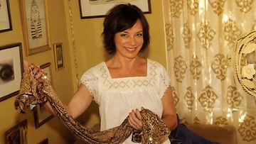 Susanna Puisto kotonaan Silverlaken kaupunginosassa, Los Angelesissa.