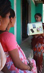 Swati (oik.) kertoo raskaudesta sanoin ja kuvin. Hän myös tarkkailee, että tuleva äiti muistaa levätä tarpeeksi.
