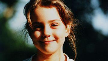 Kate Middleton lapsena