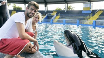 Shakira ja Gerard Pique.