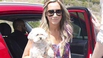 Ashley Tisdale juhli 27. syntymäpäiviään.