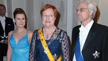 Anna Halonen ja Tarja Halonen Linnan juhlat 2010
