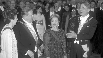 Linnan juhlat vuonna 1995.