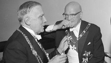 Linnan juhlat vuonna 1961.