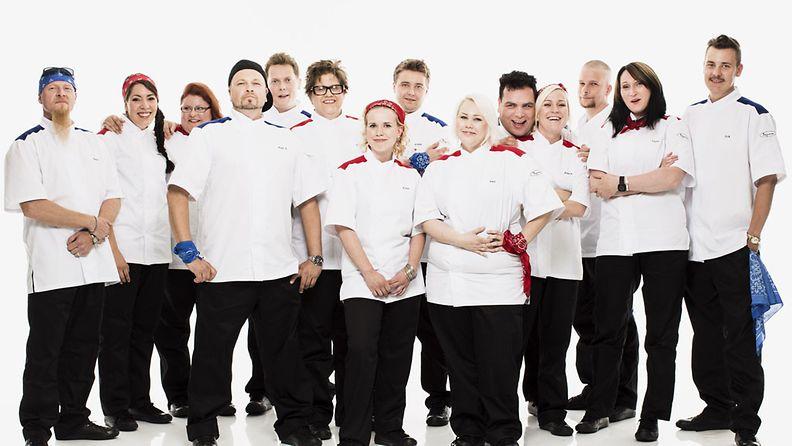 Hell's Kitchen Suomi -kilpailijat