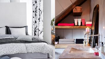 Vaikka turhat tavarat karsitaan pois, ei koti silti ole kolkko. Kuvat: H&M Home/ Riverdale