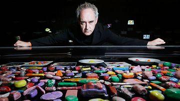 Ferran Adrià on nimetty yhdeksi maailman parhaista kokeista.