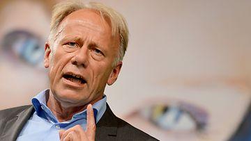 Jürgen Trittin vaalitilaisuudessa 7.9.2013.