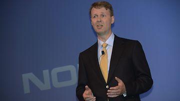 Nokian väliaikainen pääjohtaja Risto Siilasmaa.