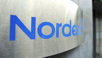Kuvassa Nordean konttori Tukholman Regeringsgatanilla 19. lokakuuta 2012.