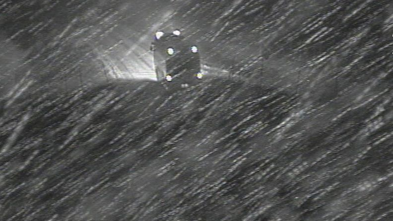 Tie 4 Utsjoki 10. lokakuuta 2013 kello 6.40. Kuva: Liikennevirasto