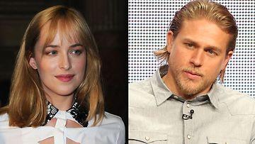 Dakota Johnson  ja Charlie Hunnam tähdittävät tulevaa Fifty Shades of Grey -filmatisointia