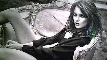 Kate Mossin kuva huutokaupataan Lontoossa Christie'sin huutokaupassa 25. syyskuuta.