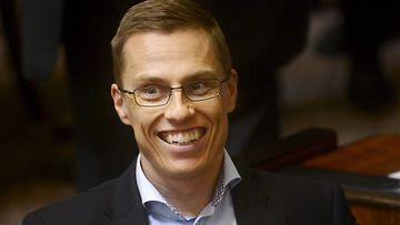 Alexander Stubb suoriutui triathlonista upeasti.