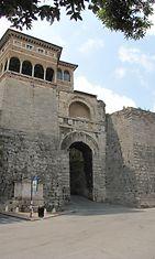 Perugia, etruskien aikainen kaupungin portti.JPG