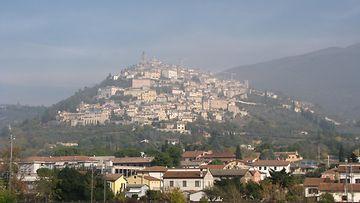 Trevi, oliiviöljyn pääkaupunki.JPG