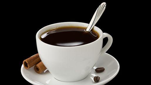 Kahvi pitää mielen iloisena.