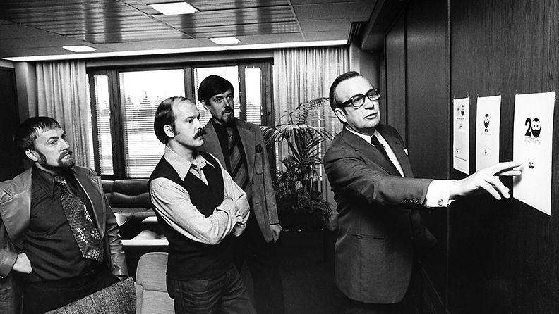 Pöllötunnus 20-vuotta  Palkintojen jako 1967  Matti Lyytinen Pentti Hanski