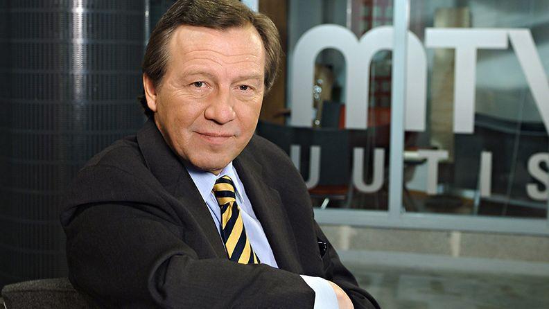 MTV Oy 50-vuotta    toimitusjohtaja Pekka Karhuvaara    kuva 24.1.2007