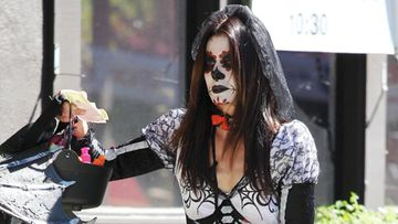 Sandra Bullockin Halloween-asussa on tyyliä.