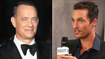 Tom Hanks ja Matthew McConaughey keskustelivat laihduttamisesta.