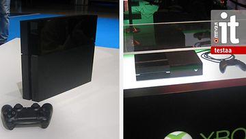 PlayStation4  ja Xbox One