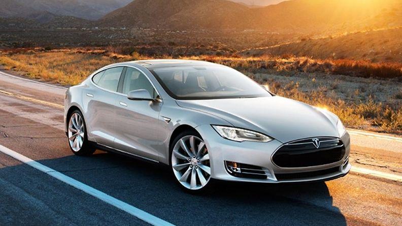 Tesla Model S (Kuvakaappaus Teslan sivuilta)
