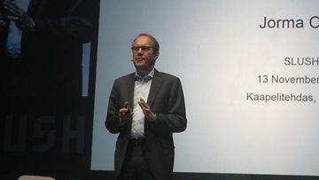 Jorma Ollila Slush-tapahtumassa 2013.